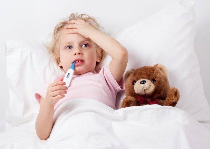 Сколько дней при ангине держится температура у детей и взрослых