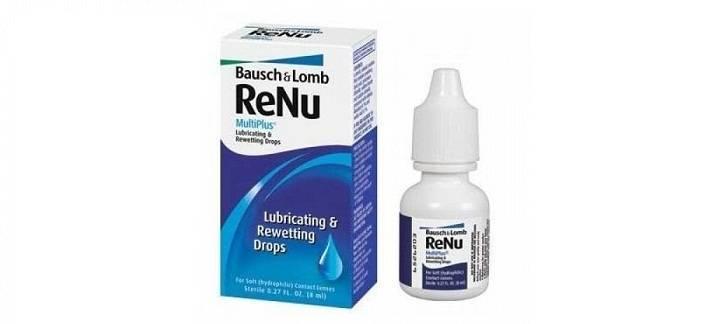 Раствор для линз renu (реню)