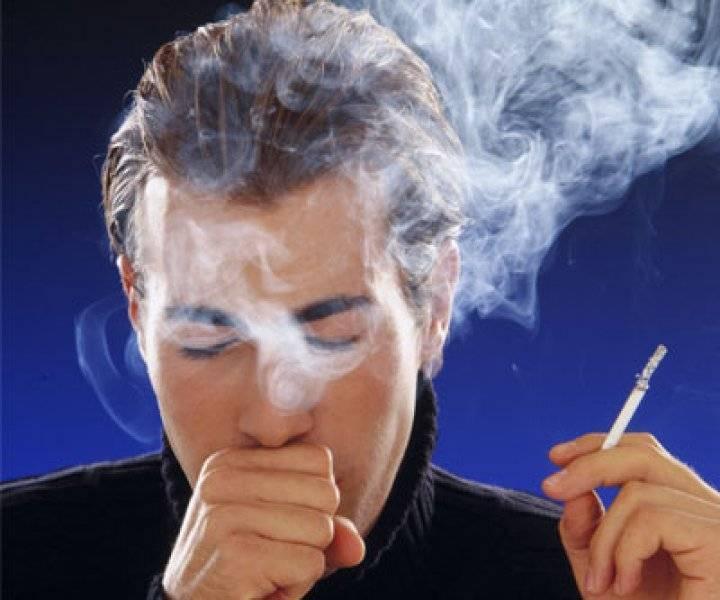 Кашель или бронхит курильщика, как избавиться и симптомы