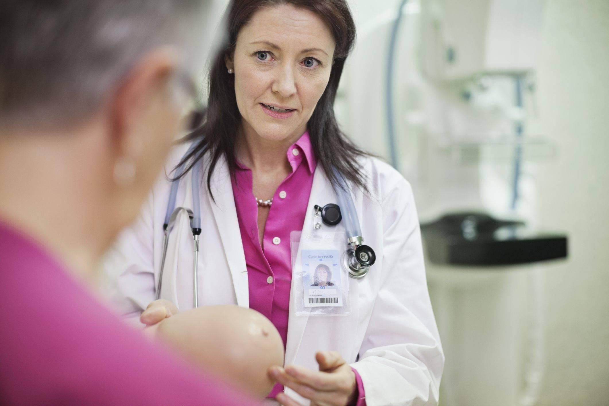 врач маммолог