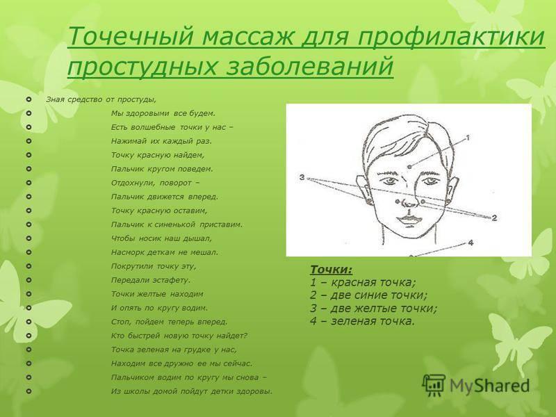 точки на лице от насморка