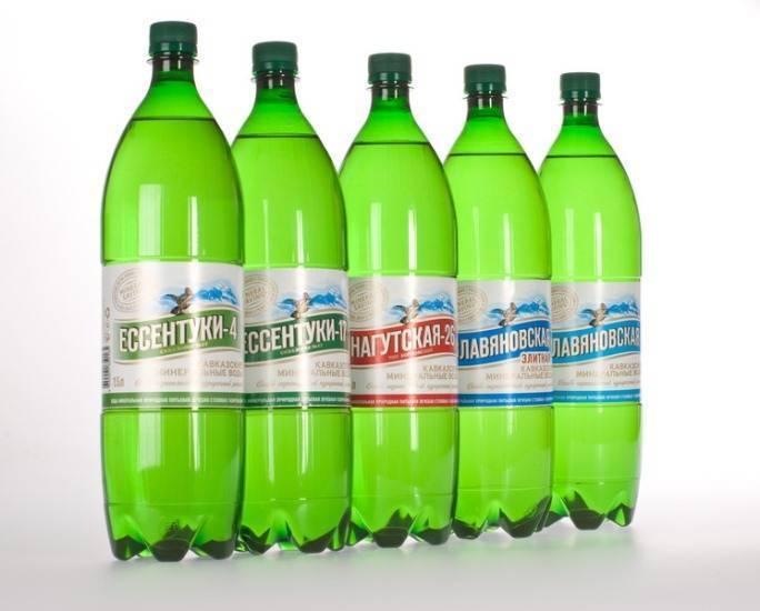 очистка печени минеральной водой