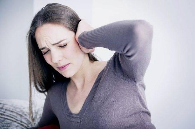 Боль в ухе при простуде у беременных