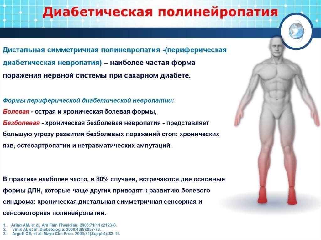 лечение полинейропатии нижних конечностей сенсорно моторного типа