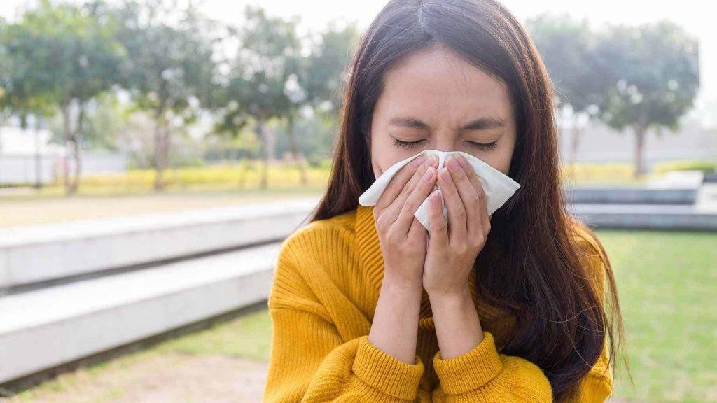 Насморк кашель слезятся глаза как лечить