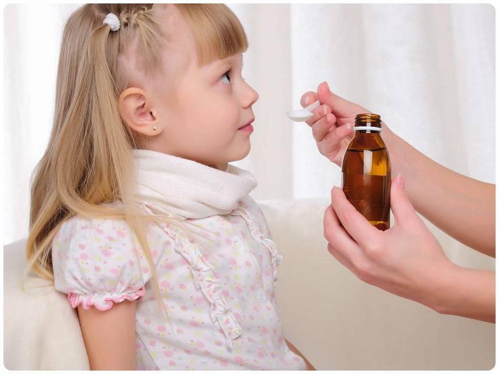 лечение горла у детей 1 года