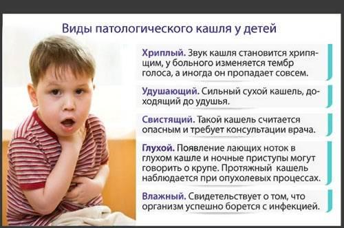 у ребенка лающий кашель и температура