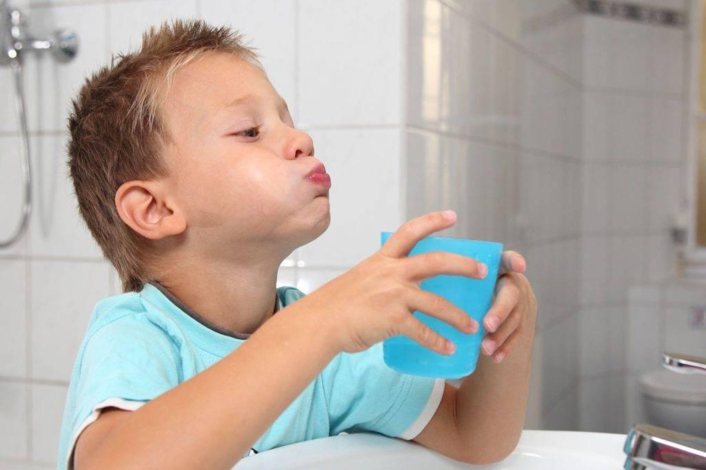 лечение горла у ребенка 1 год