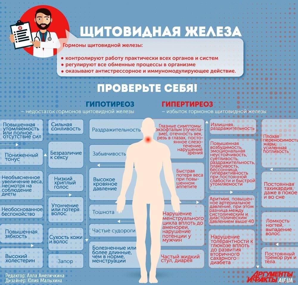 Основные заболевания эндокринной системы