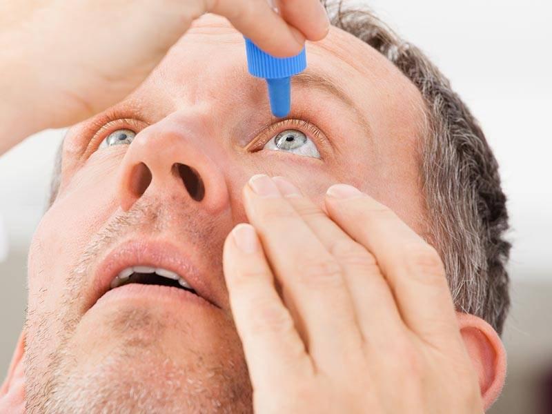 как промывать глаза при коньюктивите