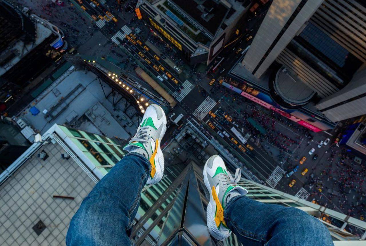 Акрофобия, преодолеваем страх высоты