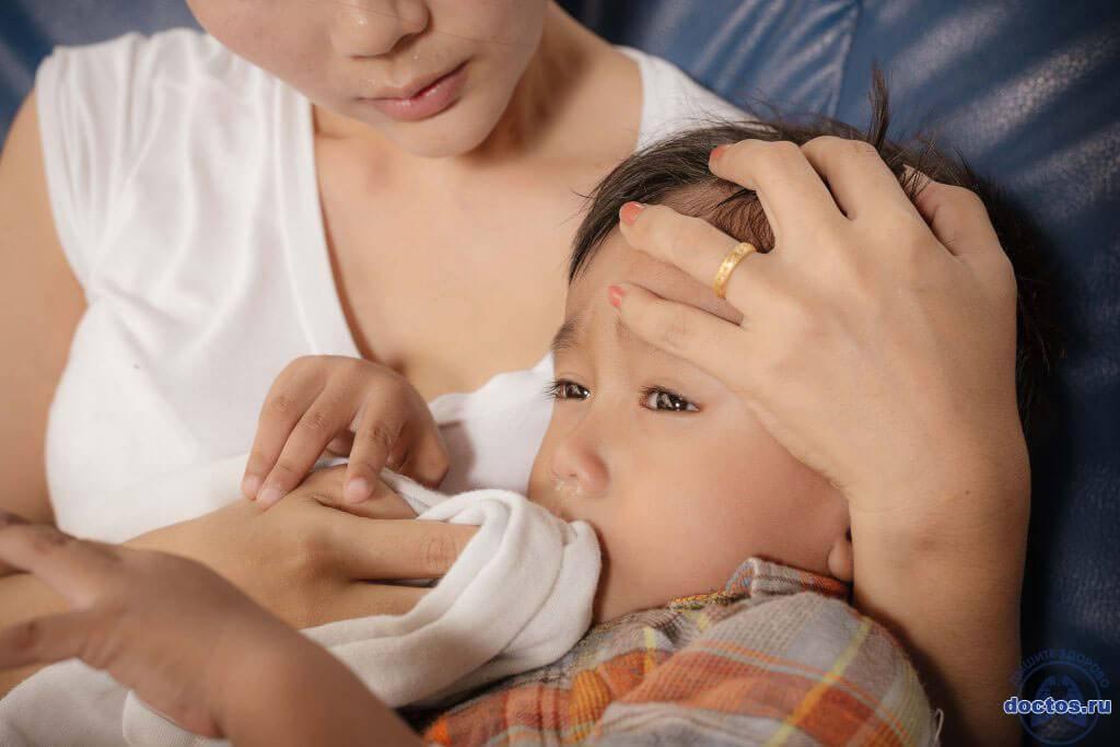 как быстро вылечить насморк у ребенка 1 года