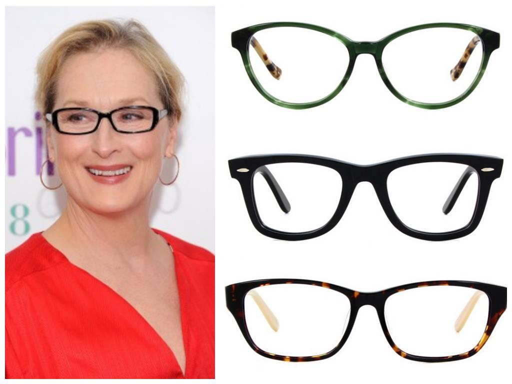 виды оправ для очков для зрения