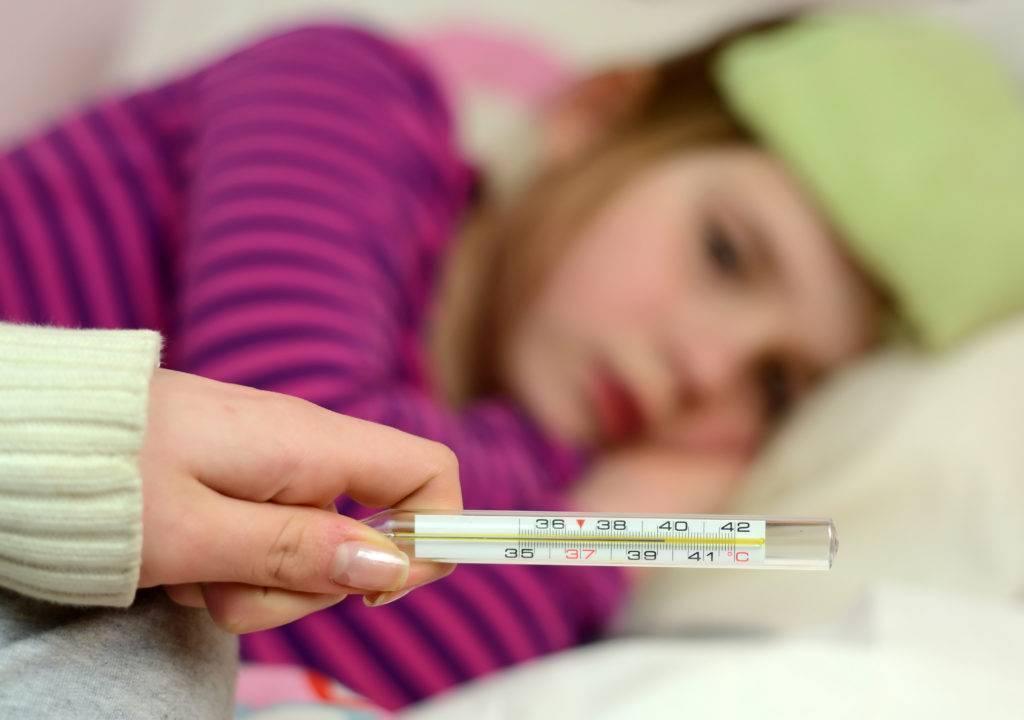 температура у ребенка ангина