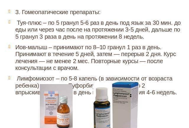 аденоидит у детей лечение препараты