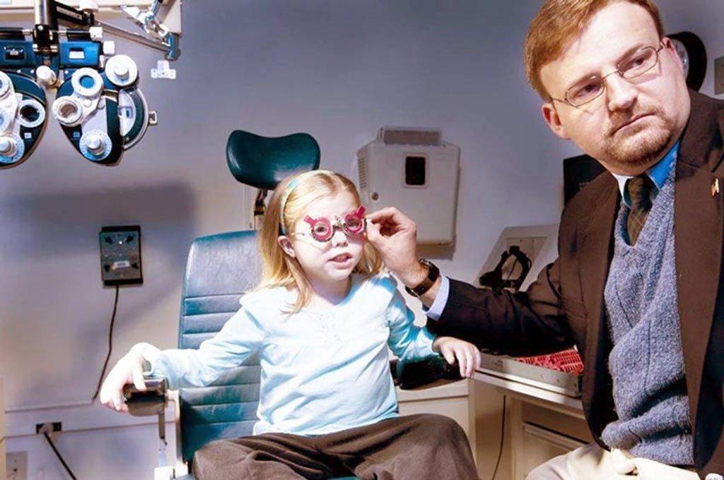 миопия слабой степени обоих глаз у детей