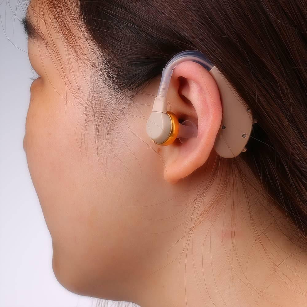 слуховой аппарат заушный