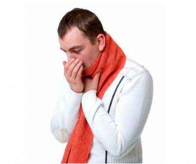 Першение в горле: причины и лечение