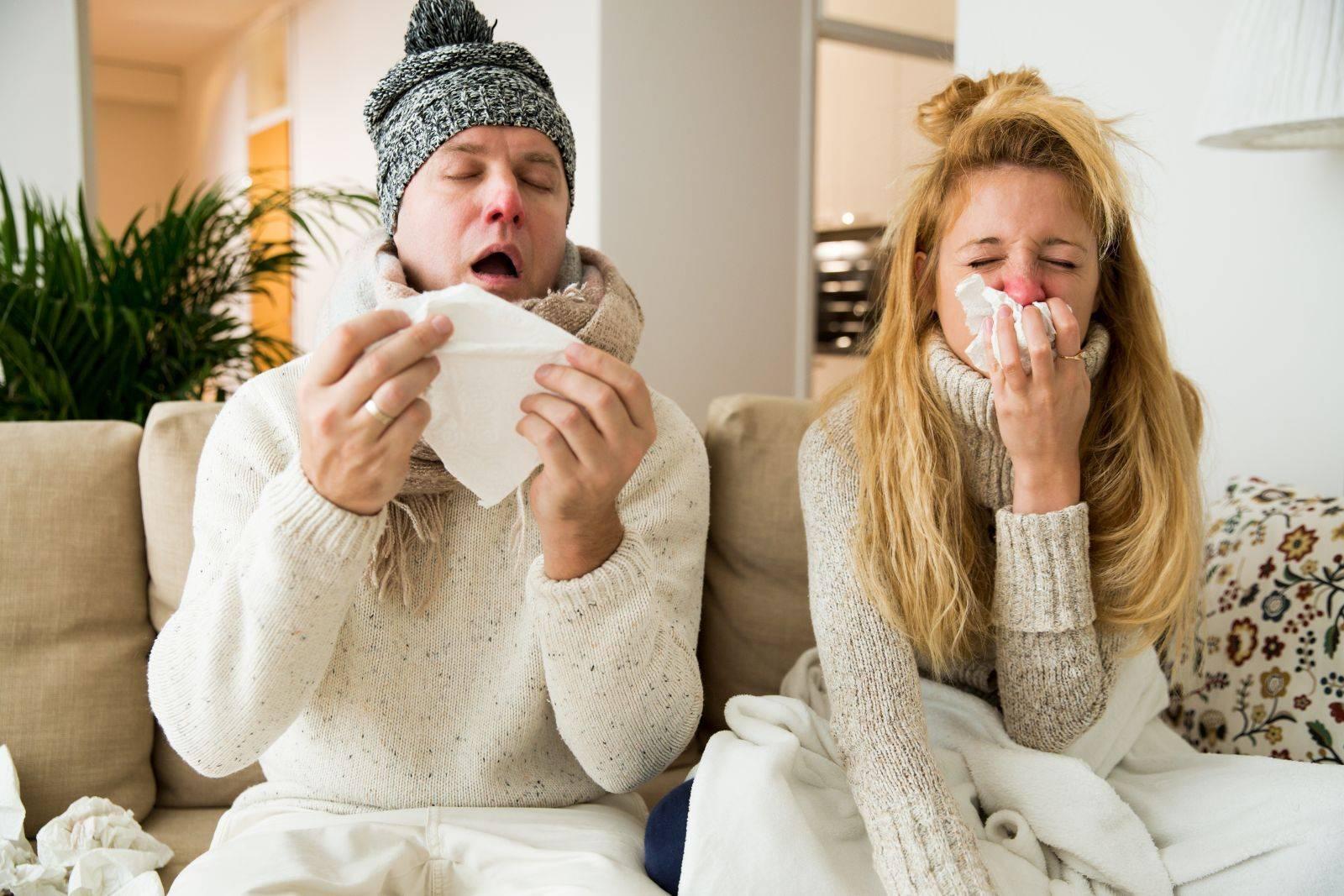Чихание и насморк без температуры: лечение в домашних условиях