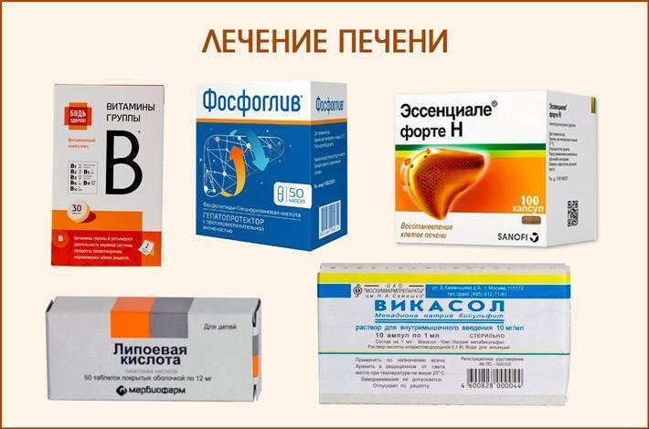 гепатоз печени лечение медикаментозное