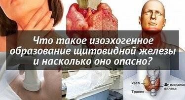 Гипоэхогенное образование щитовидной железы