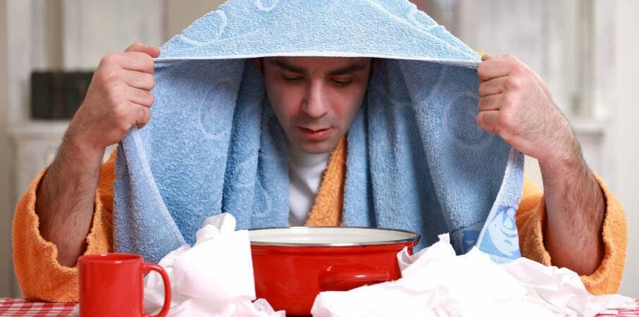 Ингаляция картошкой при кашле в домашних условиях
