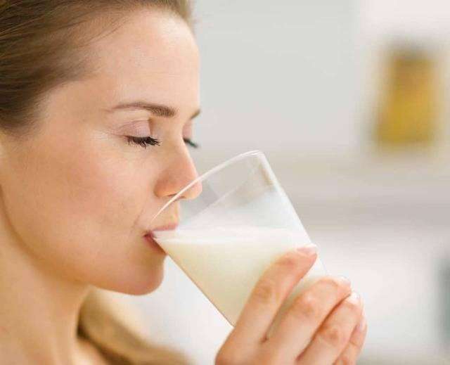 молоко при ангине