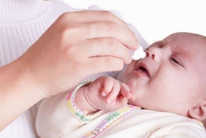 кашель и насморк у ребенка 7 месяцев