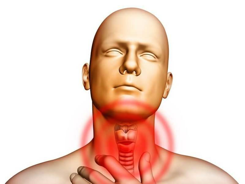 О чем говорит кашель при щитовидке?