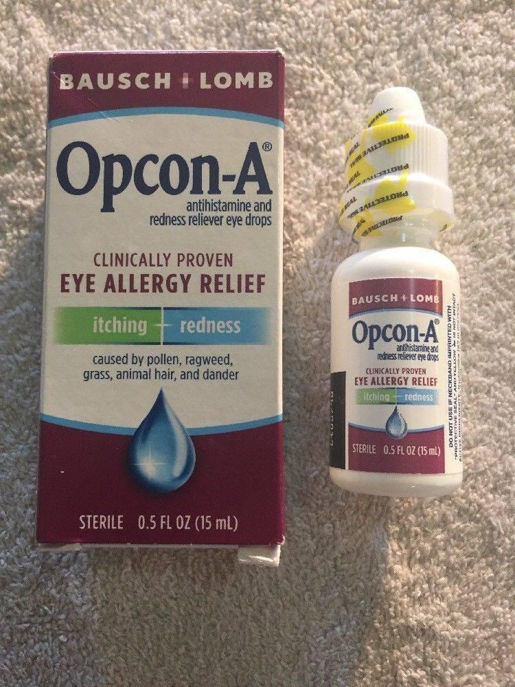 глазные капли при слезотечении глаз