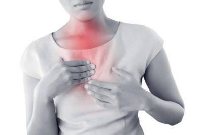 сухой кашель тяжесть в грудной клетке