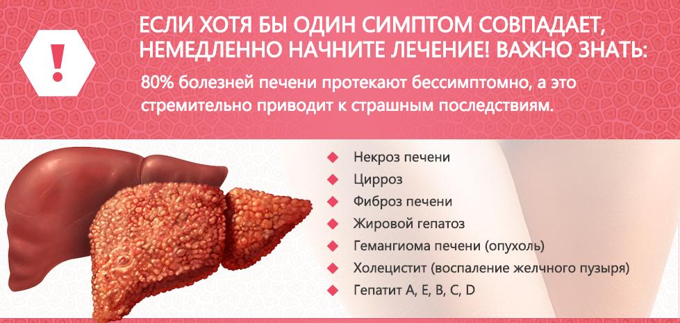 Восстановление функций печени