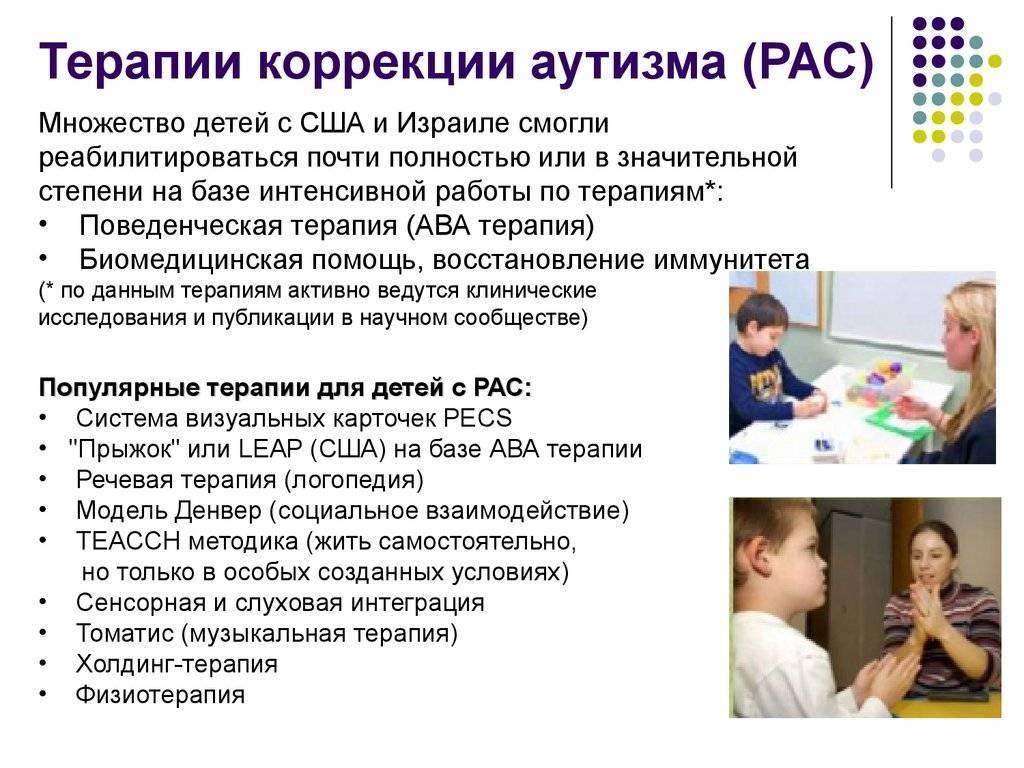 Симптомы и лечение аутизма у детей в москве, медикаментозное лечение аутизма у взрослых и детей на дому