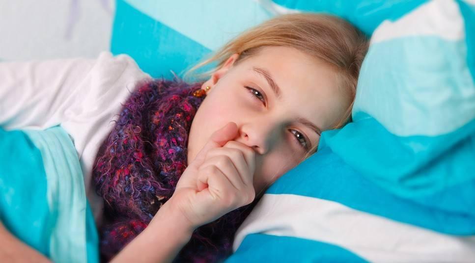 приступы кашля у ребенка ночью