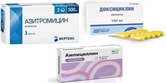антибиотики при хламидиозе у женщин