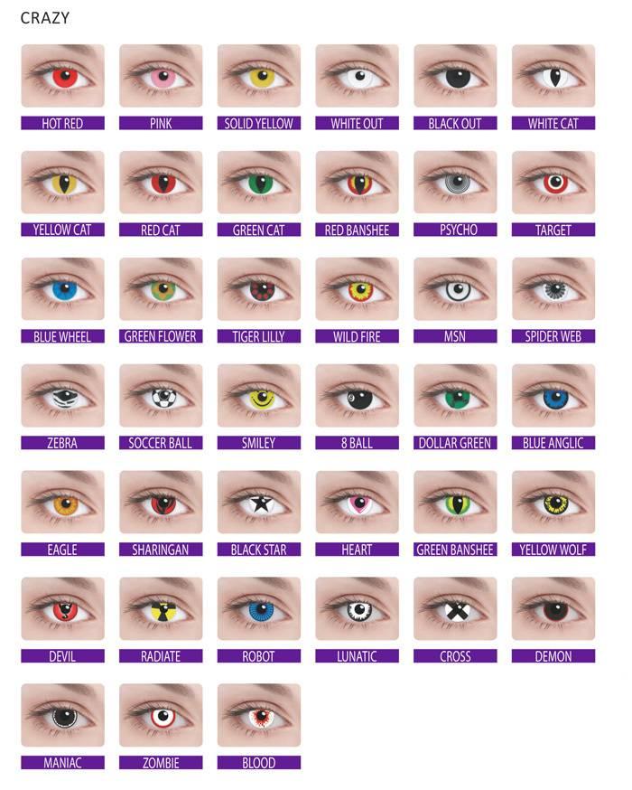 Вредят ли глазам цветные линзы