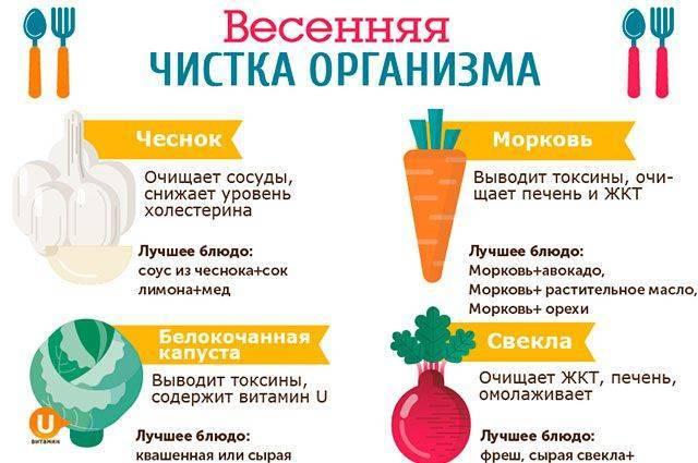 продукты полезные для печени для очищения печени