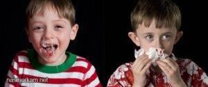 кровяные сопли у ребенка