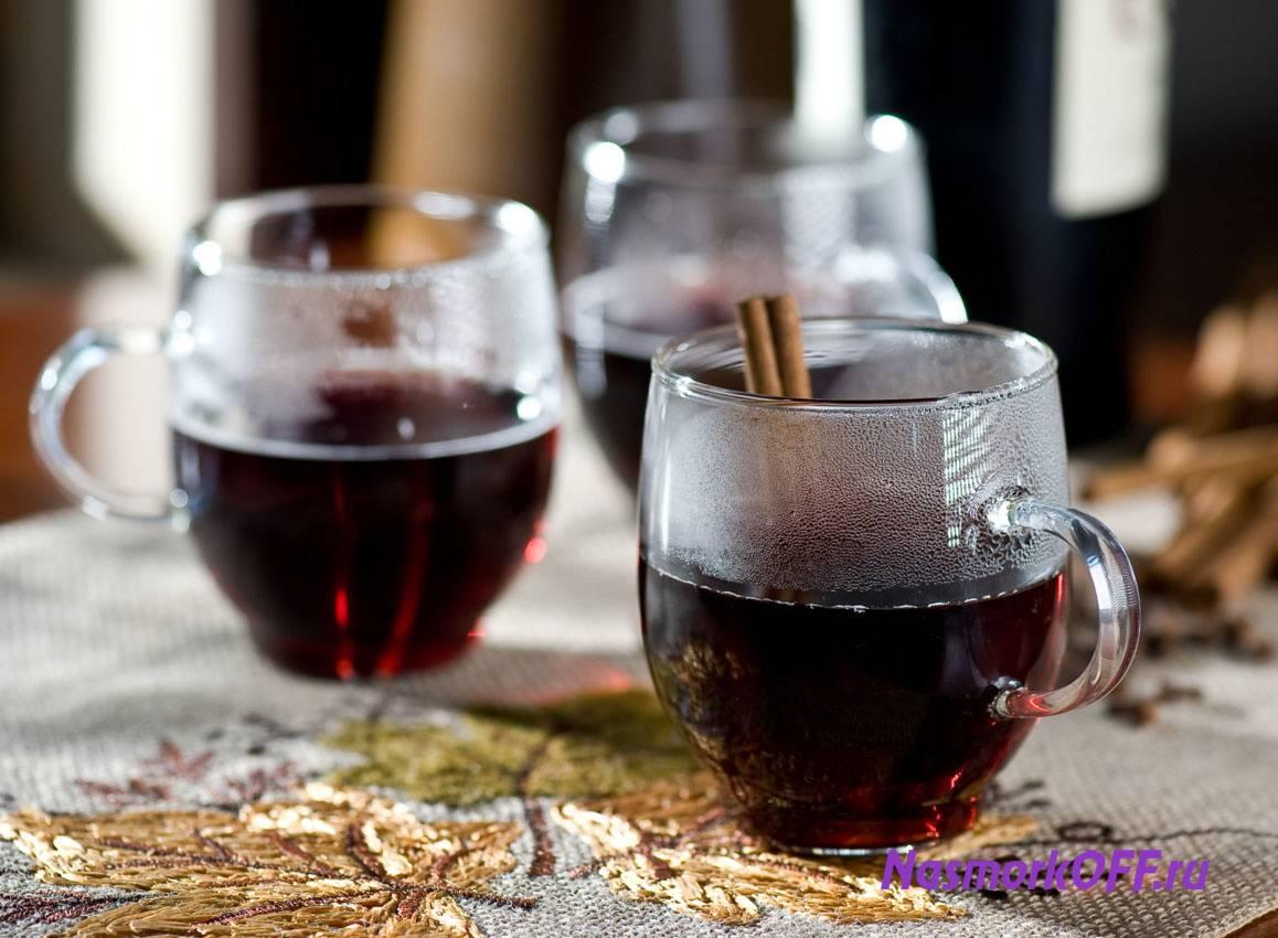 Как пить горячее вино от кашля
