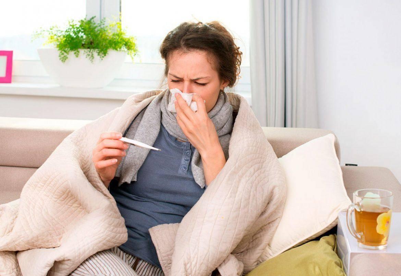Лечение насморка и чихания у взрослых без температуры