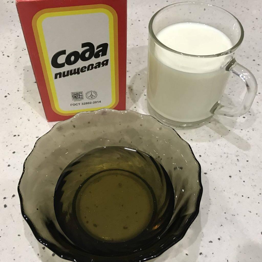 Как молоко с содой помогает от кашля — рецепты с пропорциями, способы применения и противопоказания