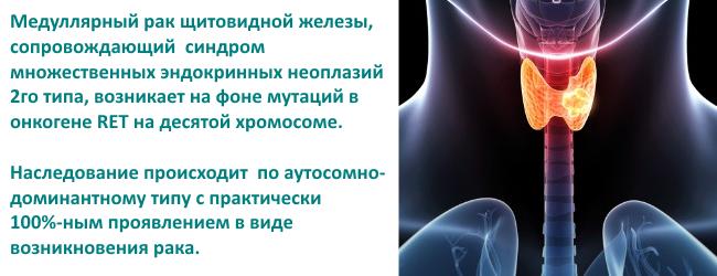 Рак щитовидной железы: симптомы и лечение