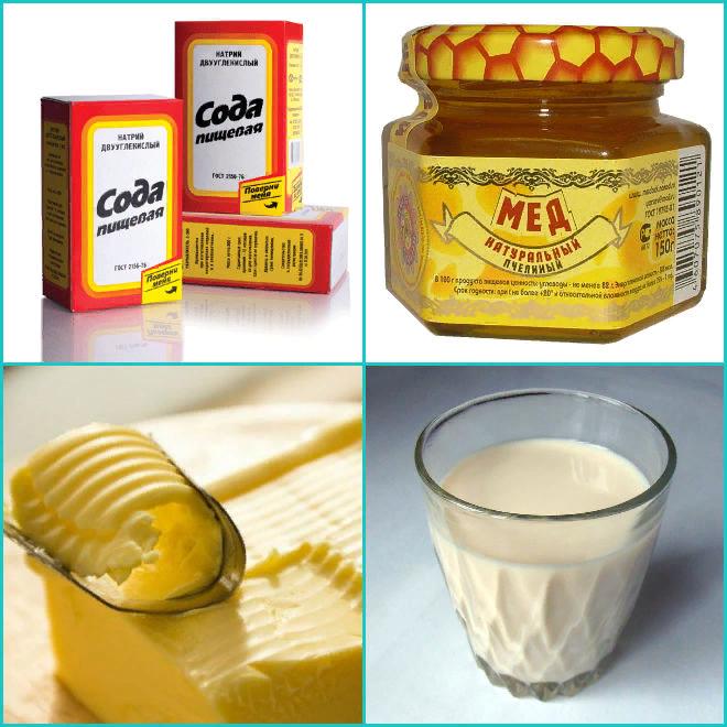 Как вылечить горло молоком и сливочным маслом