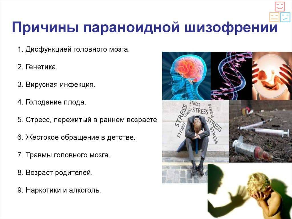 Параноидная шизофрения: причины заболевания, основные симптомы, лечение и профилактика