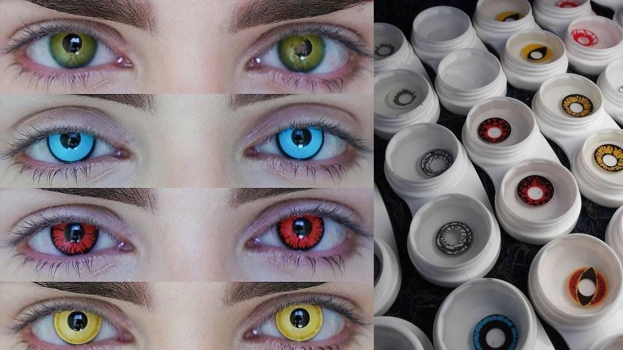 Вредно ли носить цветные контактные линзы
