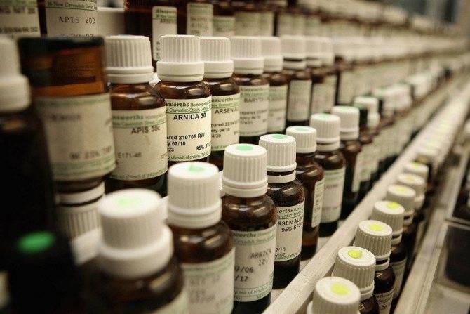 Гомеопатические средства при лечении цистита