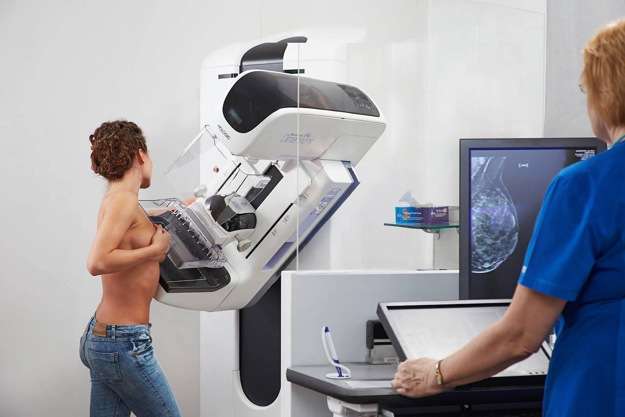 как правильно делать маммографию