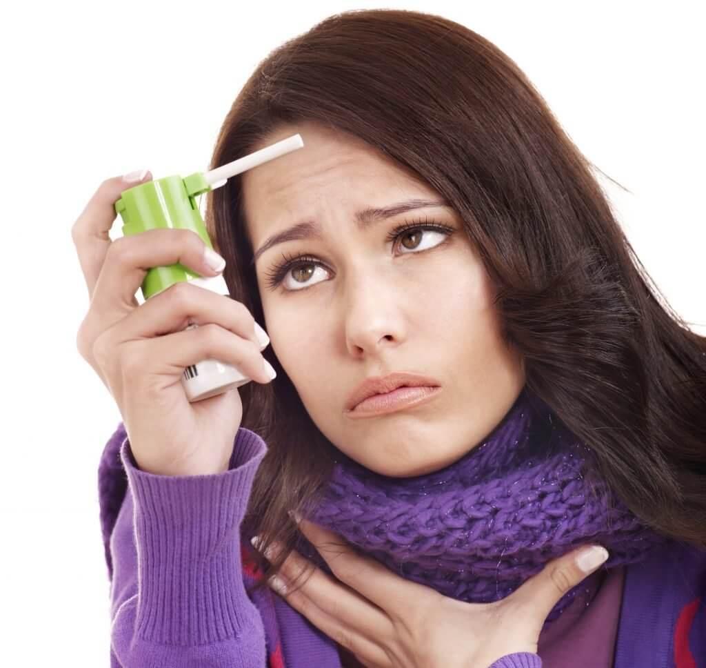 першит горло у беременной чем лечить