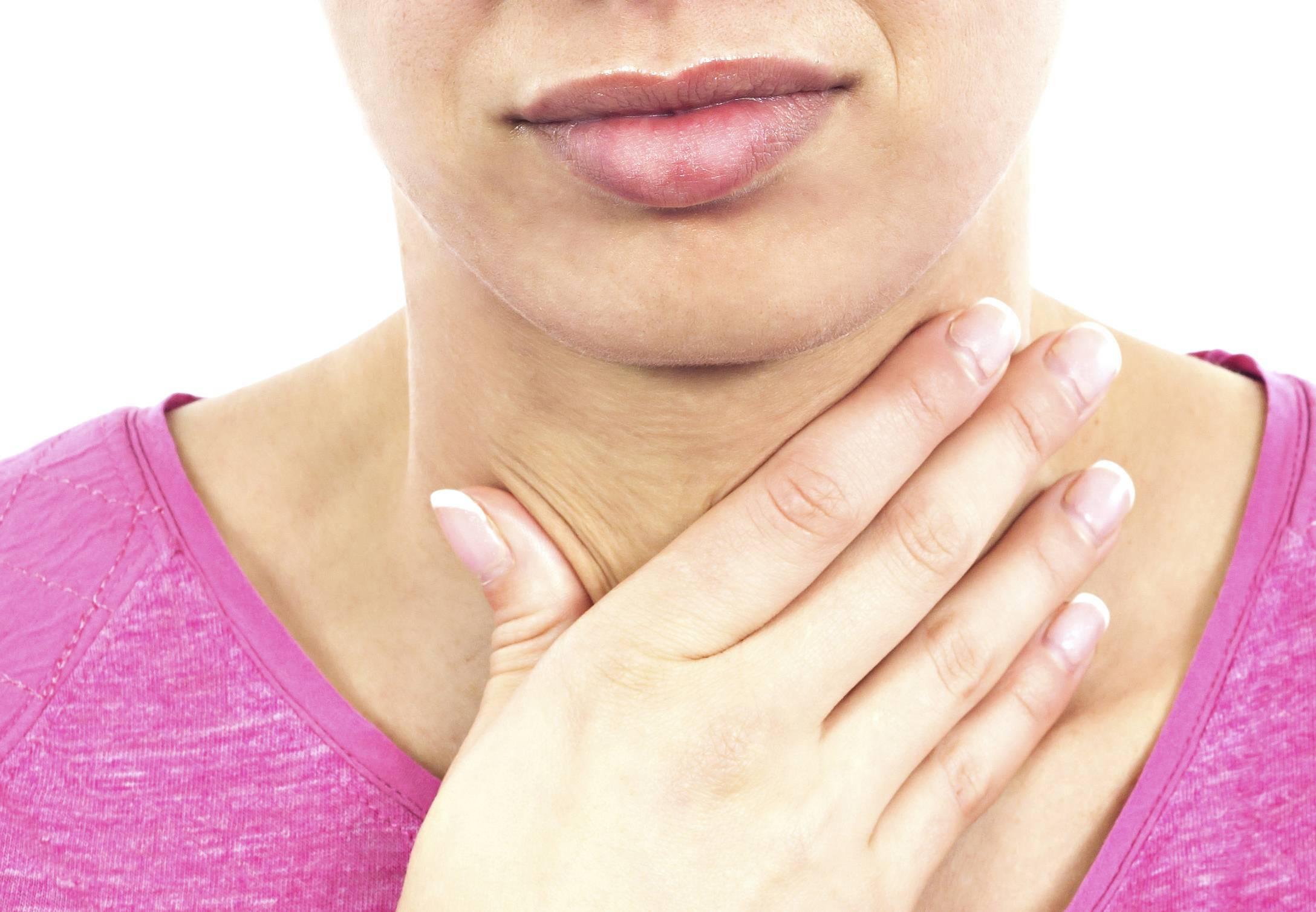 Причины спазма в горле