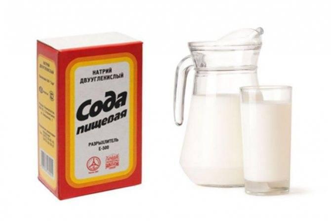 Молоко с медом и содой: польза, рецепт